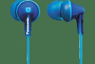 PANASONIC RP-HJE125 E-A, In-ear Kopfhörer Blau