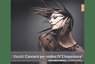 Riccardo Minasi, Il Pomo D'oro - Concerti Per Violino Iv 'l'imperatore' [CD]