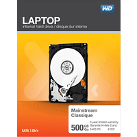 WD Laptop Mainstream™, 500 GB HDD, 2.5 Zoll, intern