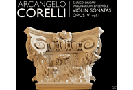 Enrico Onofri, Alessandro Palmeri, Alessandro Tampieri, Riccardo Doni, Köll Margret - Violinsonaten Op.5, Vol.1 [CD]