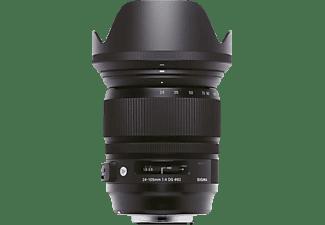 SIGMA 635962 24 mm - 105 mm f/4 DG, HSM (Objektiv für Sony A-Mount, Schwarz)