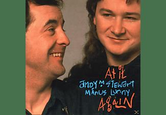 Andy M.& Manus Lunny Stewart - AT IT AGAIN  - (CD)