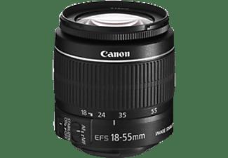 CANON EF-S 18-55mm 1:3.5-5.6 IS II f/3.5-5.6 EF-S, IS II (Objektiv für Canon EF-Mount, Schwarz)