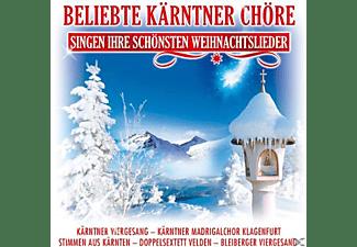 Diverse Interpreten - Beliebte Kärntner Chöre Singen Ihre Schönsten Weihnachslieder  - (CD)