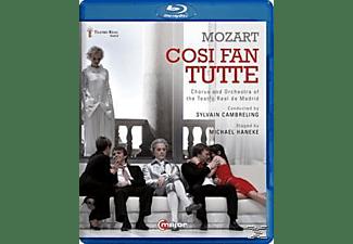 Fritsch/Gardina, Cambreling/Fritsch/Gardina/Gatell - Così Fan Tutte  - (Blu-ray)