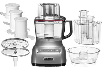 KITCHEN AID 5 KFP 0925 ECU FOOD PROCESSOR 2,1L SILBER