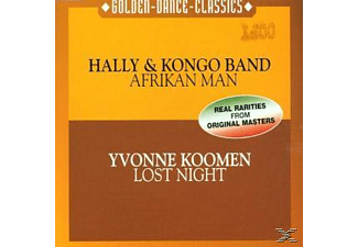 Yvo Hally & Kongo Band-koomen - Afrikan Man-Lost Night  - (Maxi Single CD)
