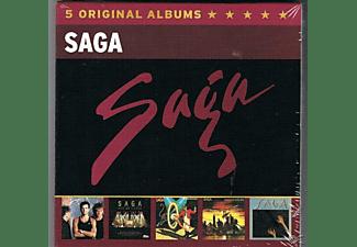 Saga - 5 Original Albums  - (CD)