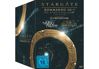 Stargate Kommando SG 1 – Die komplette Serie (62 Discs) DVD