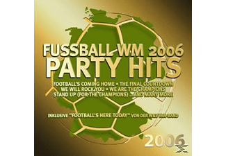 VARIOUS - Fussball WM 2006 Party Hits  - (CD)