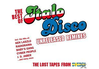 VARIOUS - Best Of Italo Disco-Unreleased Remixes  - (CD)