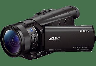 SONY FDR-AX 100E Zeiss Camcorder 4K, Full HD, HD 20,9 Megapixel, 12xopt. Zoom