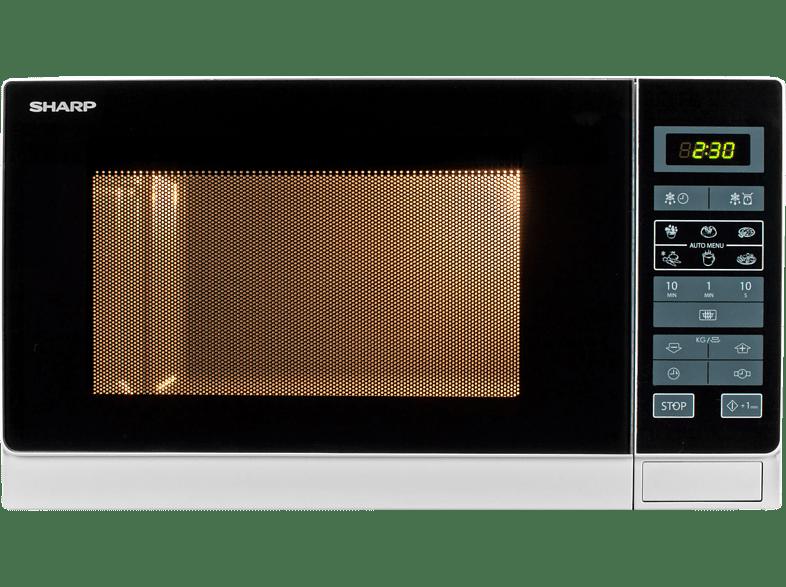 SHARP R 342 WW Mikrowelle (900 Watt)