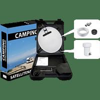 ALLVISION 9101320 Camping-Satellitenanlage (35 cm, Digitales Single-LNB)