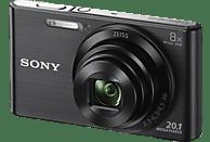 SONY Cyber-shot DSC-W830 Zeiss Digitalkamera Schwarz, 20.1 Megapixel, 8x opt. Zoom, TFT-LCD, Xtra Fine