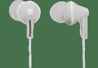 PANASONIC RP-HJE125 E-W, In-ear Kopfhörer Weiß