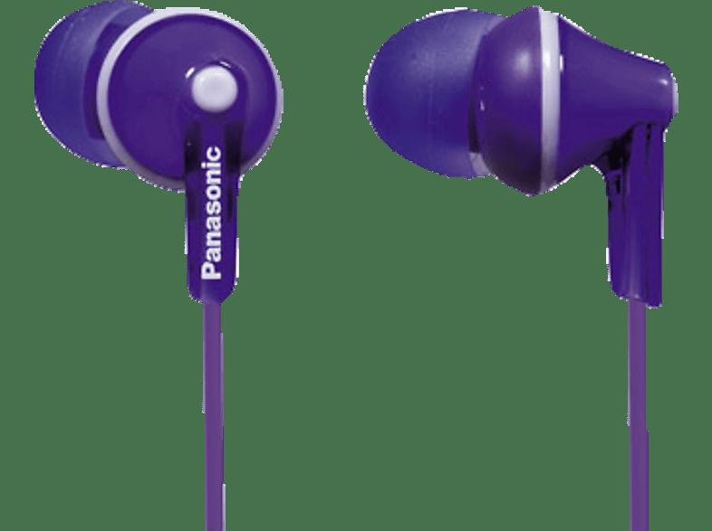 PANASONIC RP-HJE125 E-V, In-ear Kopfhörer  Violett