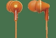 PANASONIC RP-HJE125 E-D, In-ear Kopfhörer Orange