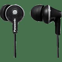 PANASONIC RP-HJE125 E-K, In-ear Kopfhörer  Schwarz