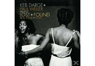 Keb Darge & Paul Weller - LOST AND FOUND - REAL R&B AND SOUL  - (CD)