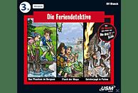 Die Feriendetektive - Die Feriendetektive - Hörbox Folgen 1-3 - (CD)