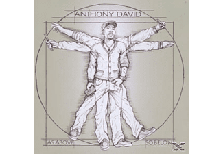 Anthony David - As Above,So Below  - (CD)