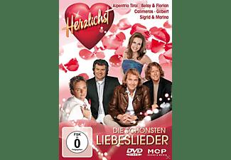 VARIOUS - Die Schönsten Liebeslieder-Herzlichst  - (DVD)