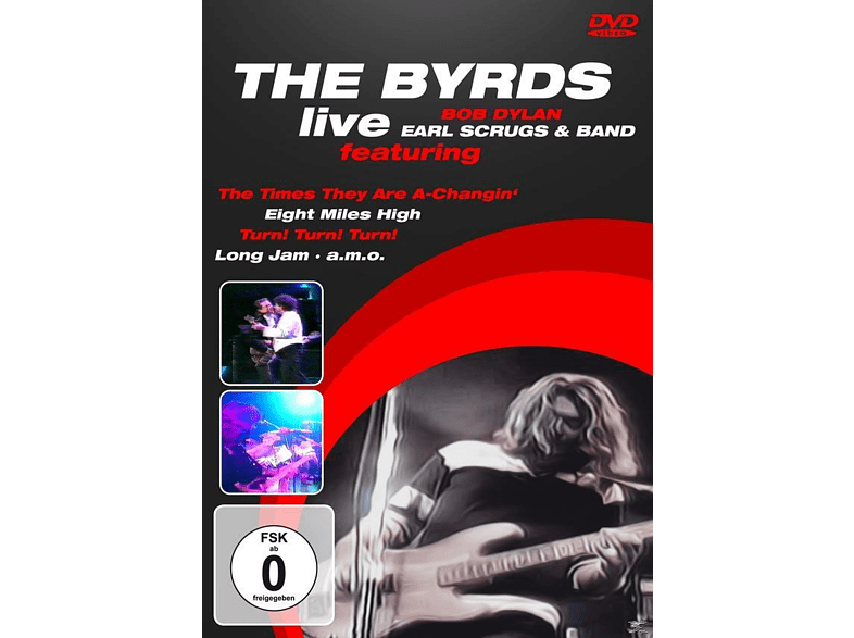 The Byrds, Earl Scruggs & His Band, Bob Dylan - Live [DVD]