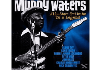 VARIOUS - Muddy Waters All-Star Tribute To A Legend  - (CD)
