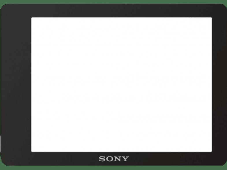 SONY PCK-LM16 Formstabile LCD Schutzfolie, für α7- und α7R-Kameras, Schwarz