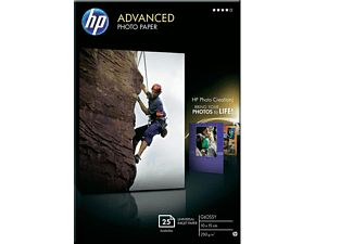 HP Advanced Glossy Photo Paper Snapshot size support - (Q8691A)