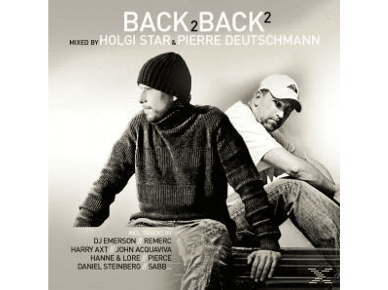 Holgi Star & Pierre Deutschmann - Back 2 Back Vol.2 [CD]