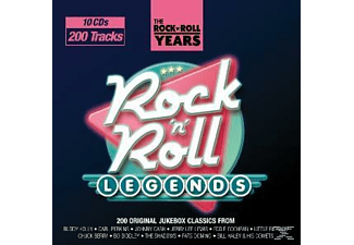 VARIOUS - ROCK'N'ROLL YEARS: ROCK'N'ROLL LEGENDS  - (CD)