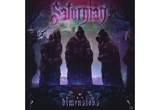 Saturnian - Dimensions  - (CD)