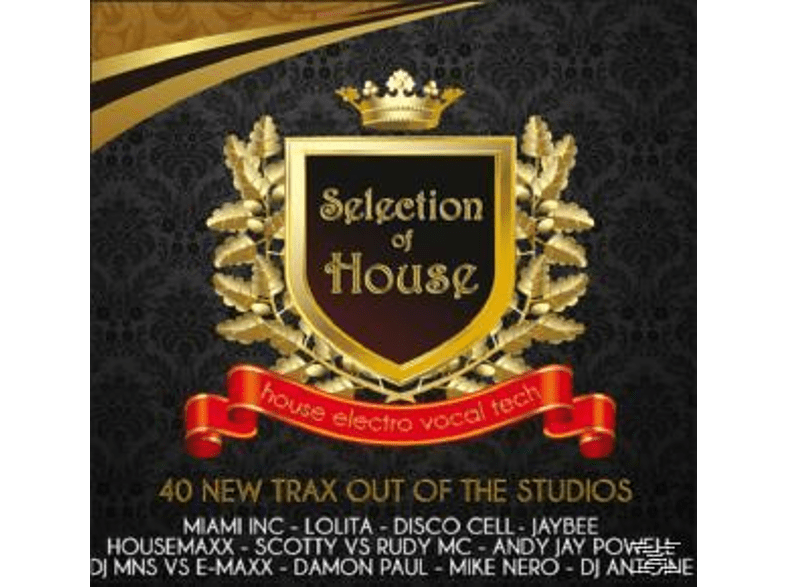 VARIOUS - Selection Of House [CD]