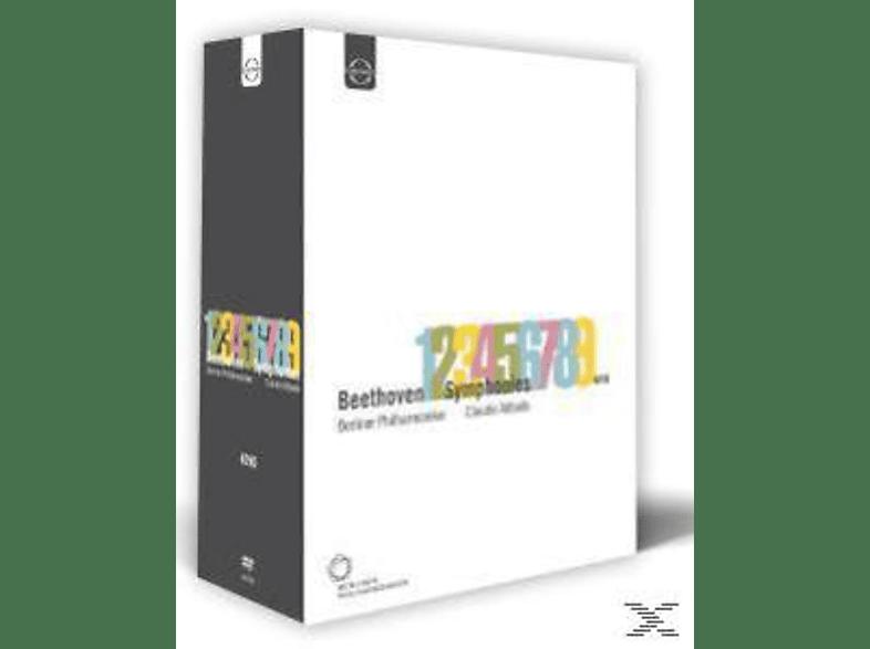 Claudio Abbado, Berliner Philharmoniker - Sinfonien 1-9 [DVD]