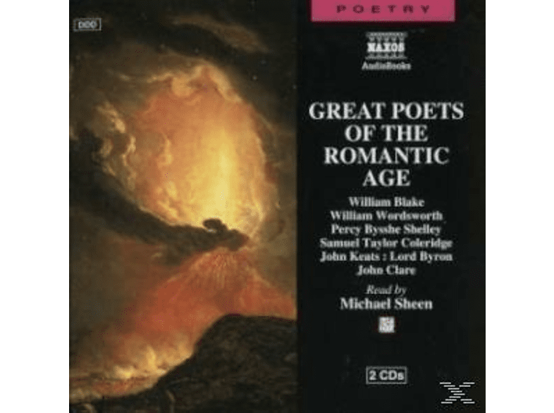 GREAT POETS OF THE ROMANTIC AGE - (CD)