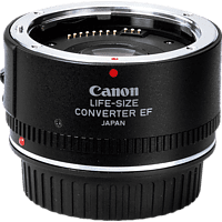 CANON EF-Life Size Konverter, 50 mm Makroobjektiv (EF), Schwarz