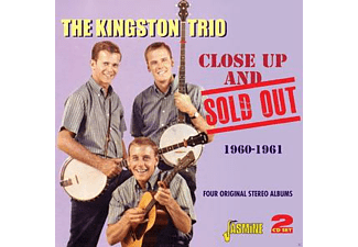 The Kingston Trio - CLOSE UP AND SOLD OUT  - (CD)