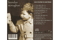 Brendan Monaghan - Never Too Late To Come Home [CD]
