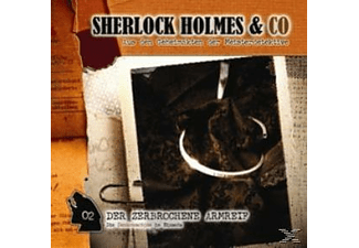 - Sherlock Holmes & Co 02: Der Zerbrochene Armreif  - (CD)