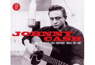 """VARIOUS - Johnny Cash & The Music That Inspired """" Walk The Line """"  - (CD)"""