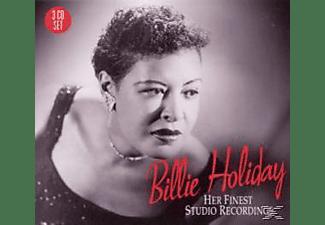 Billie Holiday - HER FINEST STUDIO RECORDINGS  - (CD)