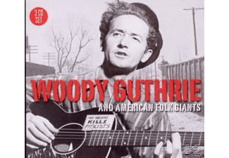 Woody Guthrie - Woody Guthrie & American Folk Giants  - (CD)