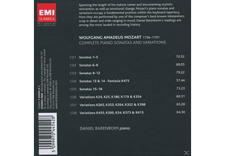 Daniel Barenboim - Sämtliche Klaviersonaten  - (CD)