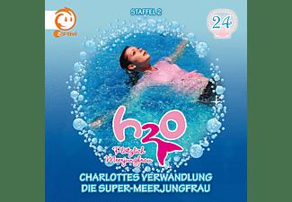 H2o-Plötzlich Meerjungfrau! - H2O - Plötzlich Meerjungfrau! 24: 24: Charlottes Verwandlung / Die Super-Meerjungfrau  - (CD)