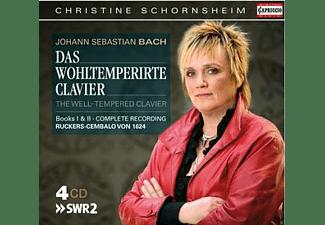 Christine Schornsheim - Das Wohltemperierte Klavier Buch I+Ii  - (CD)
