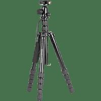 BRAUN PHOTOTECHNIK NOX 145 Professional Dreibein Stativ, Schwarz, Höhe offen bis 1450 mm