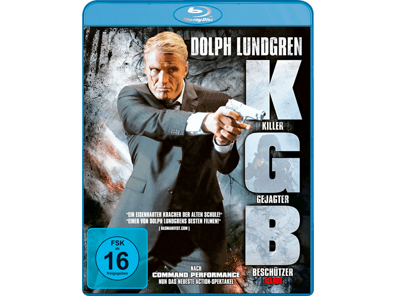 Kgb-Killer, Gejagter, Beschützer (Icarus) [Blu-ray]