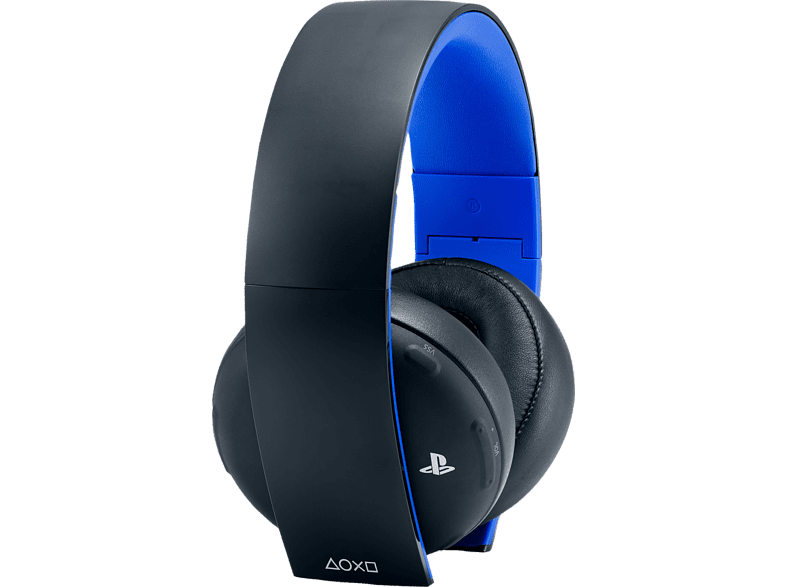 SONY PS4 Wireless Headset Stereo 2.0, Schwarz/blau